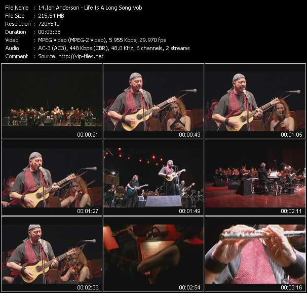 Ian Anderson video screenshot