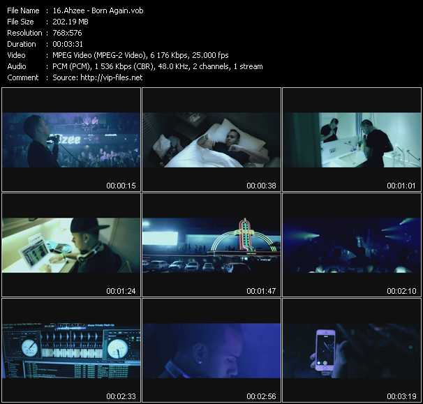 Ahzee video screenshot