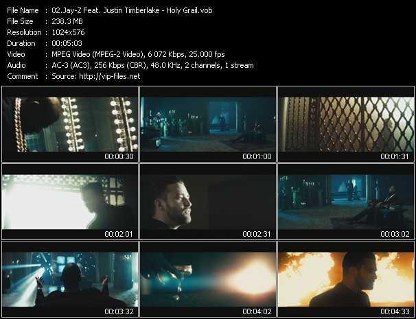 Jay-Z Feat. Justin Timberlake video screenshot