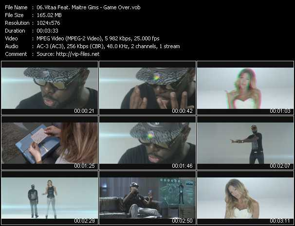 Vitaa Feat. Maitre Gims video screenshot
