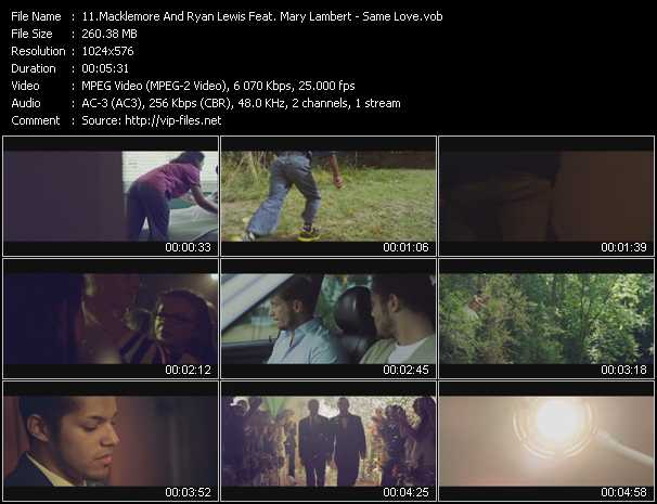 Macklemore And Ryan Lewis Feat. Mary Lambert video screenshot