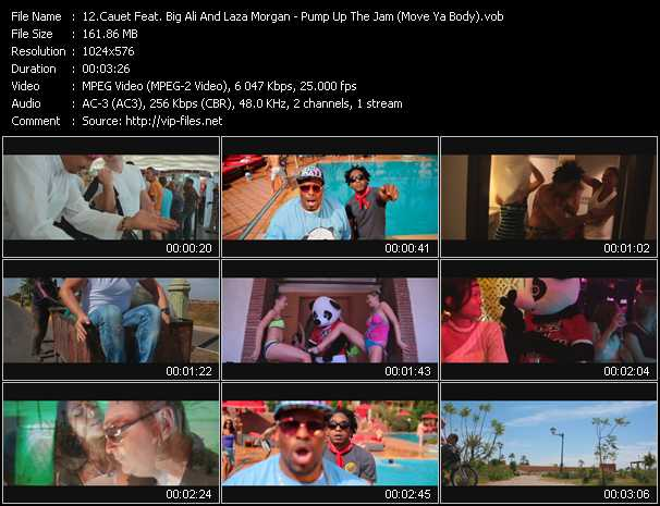 Cauet Feat. Big Ali And Laza Morgan video screenshot