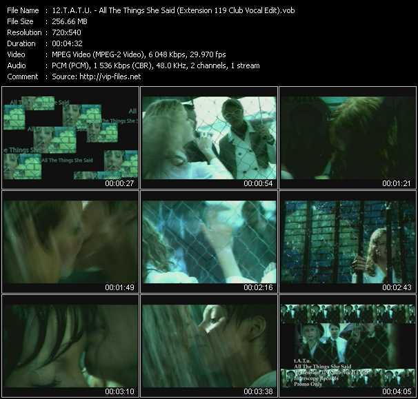 T.A.T.U. video screenshot