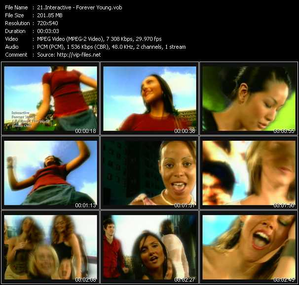 Interactive video screenshot