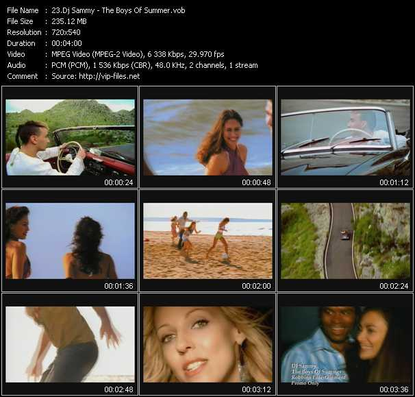 Dj Sammy video screenshot
