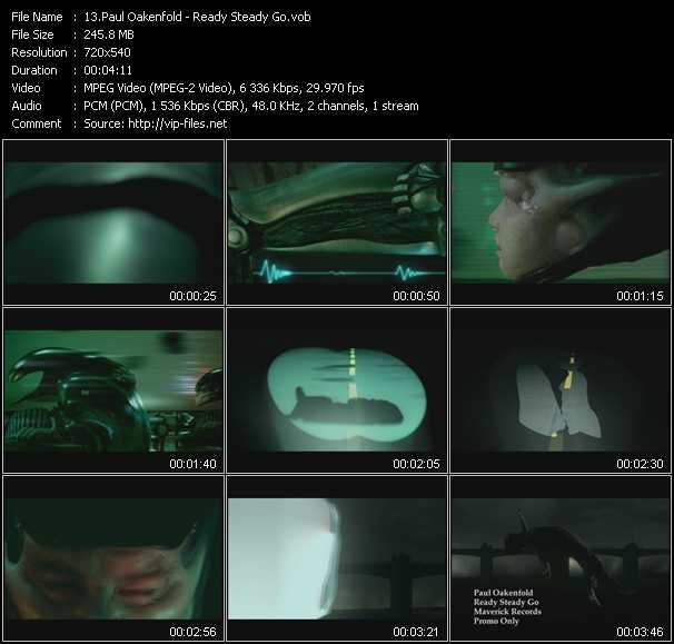 Paul Oakenfold video screenshot