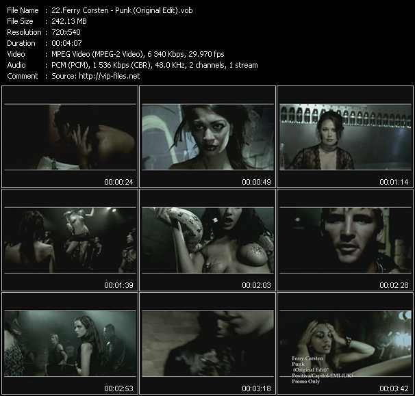 Ferry Corsten video screenshot