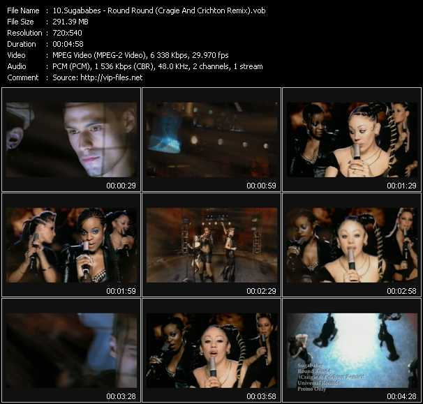 Sugababes video screenshot