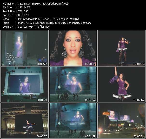 Lamya video screenshot