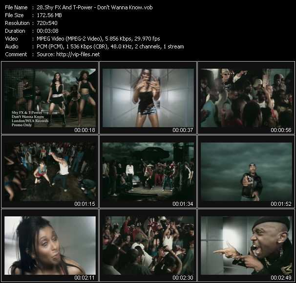 Shy FX And T-Power video screenshot