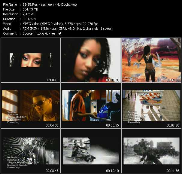 Res - Yasmeen - No Doubt video screenshot