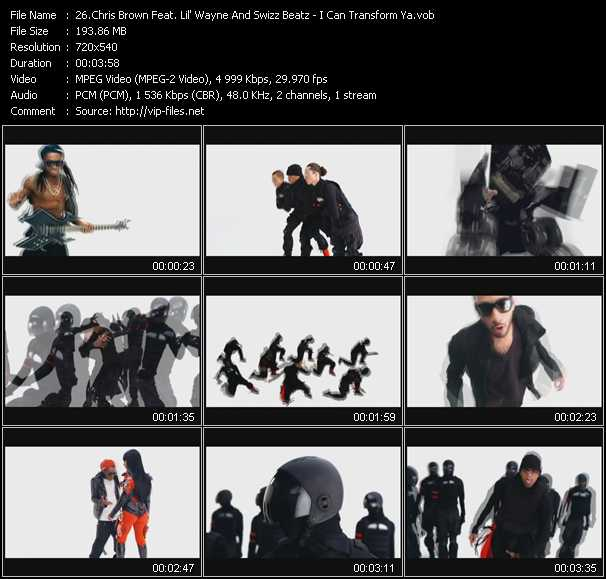 Chris Brown Feat. Lil' Wayne And Swizz Beatz video screenshot