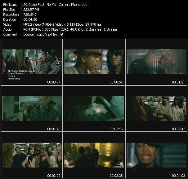 Game Feat. Ne-Yo video screenshot