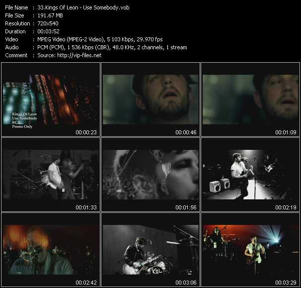 Kings Of Leon video screenshot