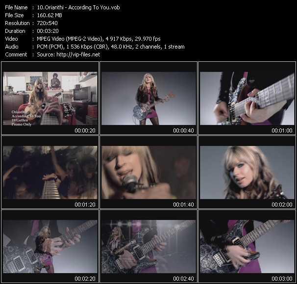 Orianthi video screenshot