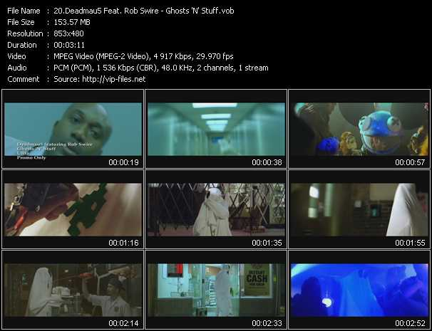 Deadmau5 Feat. Rob Swire video screenshot