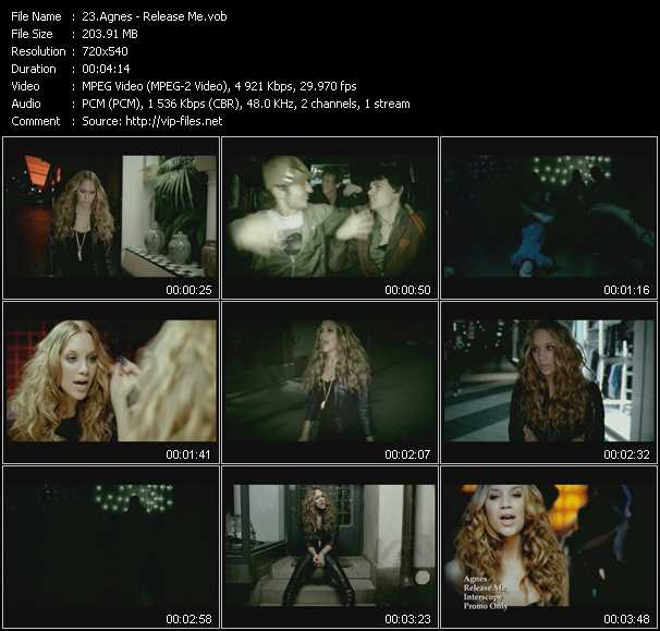 Agnes video screenshot