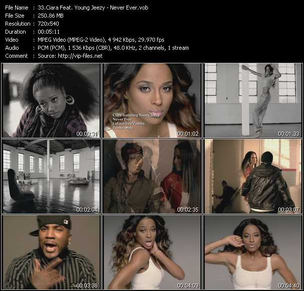 Ciara Feat. Young Jeezy video screenshot