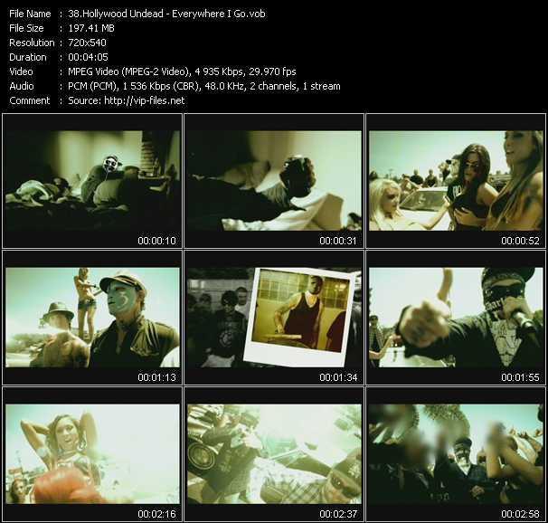 video Everywhere I Go screen