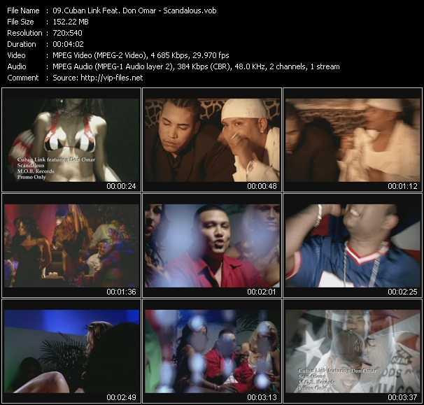 Cuban Link Feat. Don Omar video screenshot