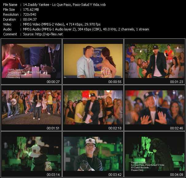 video Lo Que Paso, Paso - Salud Y Vida screen