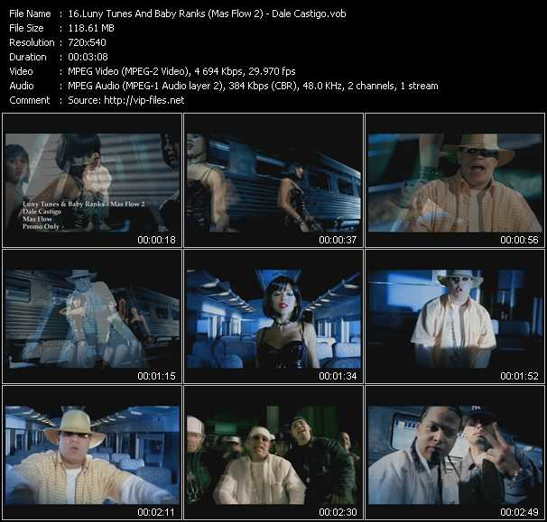 Luny Tunes And Baby Ranks (Mas Flow 2) video screenshot