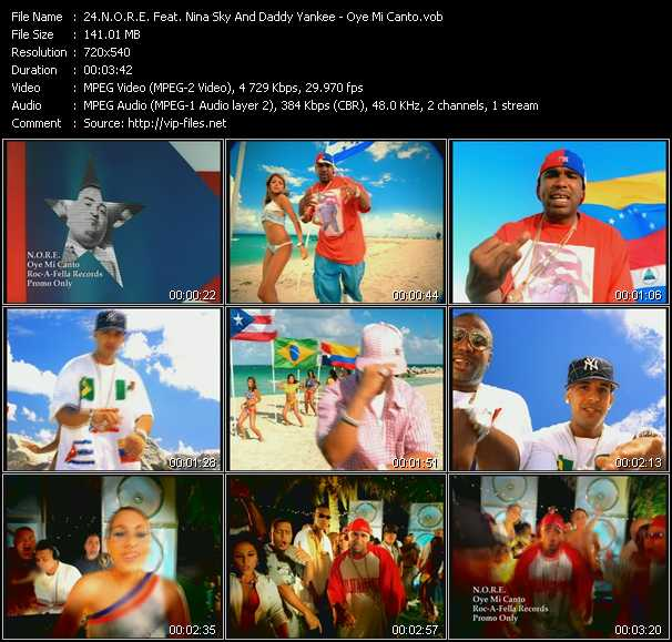 N.O.R.E. Feat. Nina Sky And Daddy Yankee video screenshot