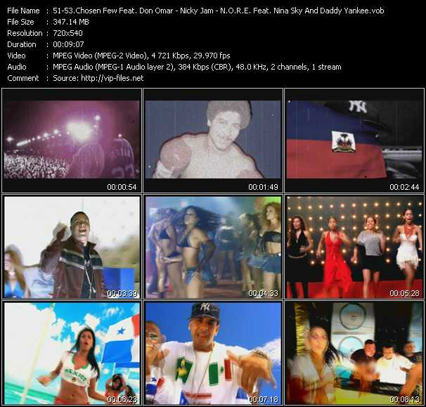 video Reggaeton Latino - Chambonea - Oye Mi Canto screen