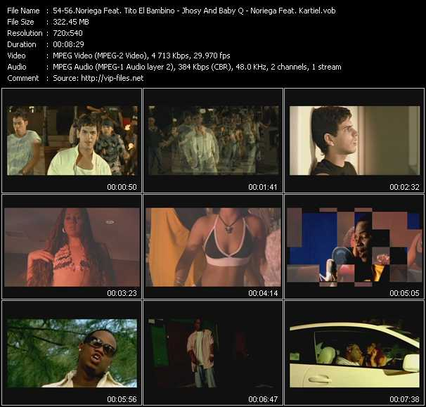 Noriega Feat. Tito El Bambino - Jhosy And Baby Q - Noriega Feat. Kartiel video screenshot