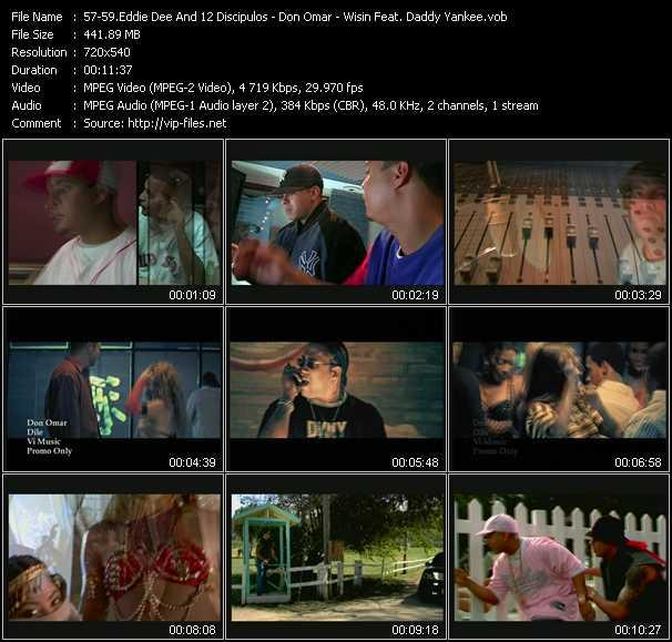 Eddie Dee And 12 Discipulos - Don Omar - Wisin Feat. Daddy Yankee video screenshot
