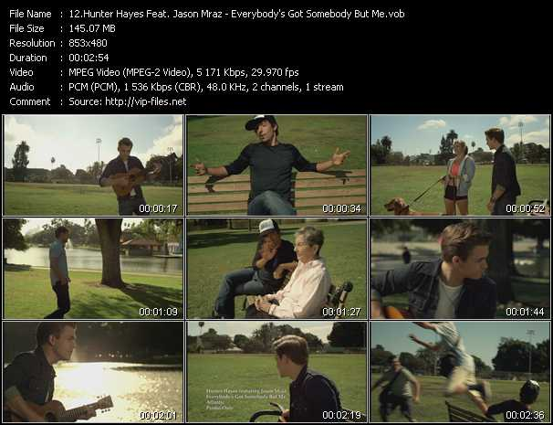 Hunter Hayes Feat. Jason Mraz video screenshot