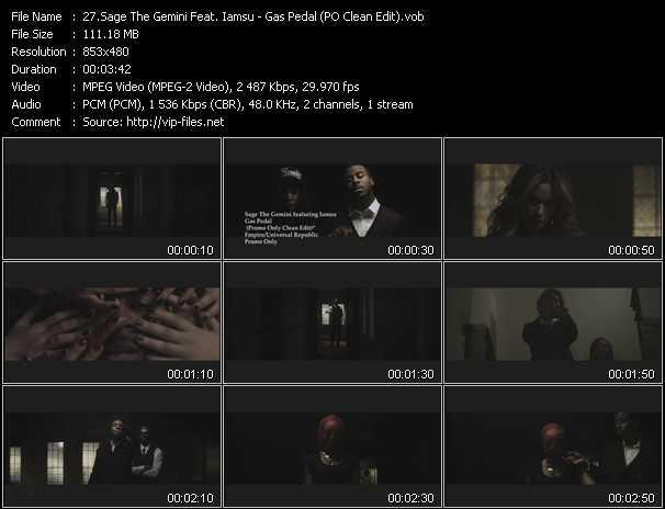 Sage The Gemini Feat. Iamsu video screenshot