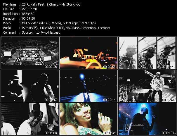 R. Kelly Feat. 2 Chainz video screenshot