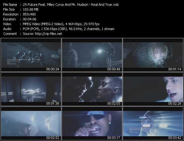 Future Feat. Miley Cyrus And Mr. Hudson video screenshot