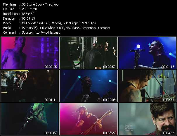 Stone Sour video screenshot