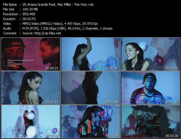 Ariana Grande Feat. Mac Miller video screenshot