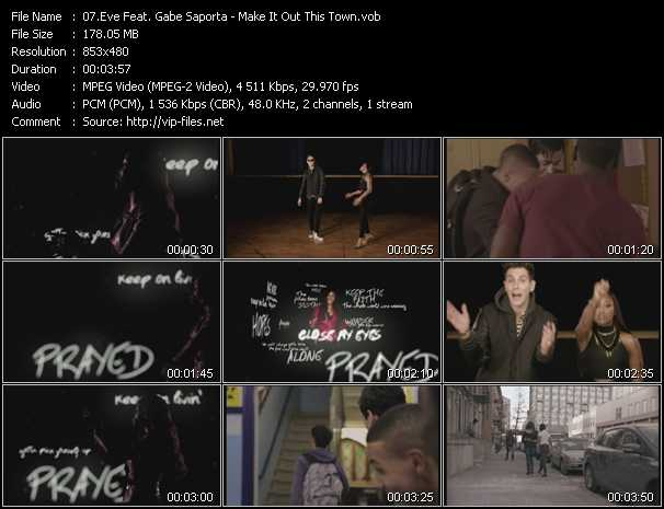 Eve Feat. Gabe Saporta video screenshot
