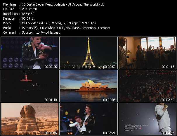 Justin Bieber Feat. Ludacris video screenshot