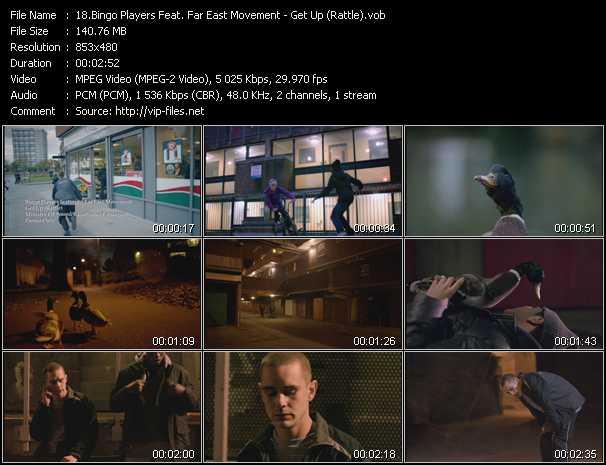Bingo Players Feat. Far East Movement video screenshot