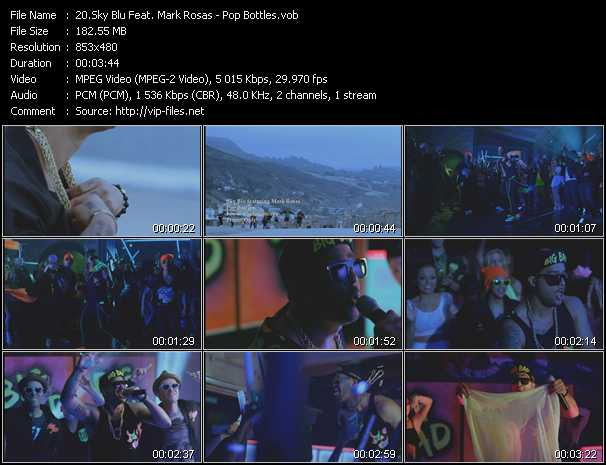 Sky Blu Feat. Mark Rosas video screenshot