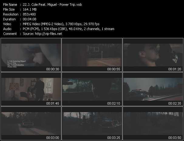 J. Cole Feat. Miguel video screenshot