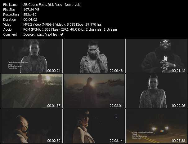 Cassie Feat. Rick Ross video screenshot