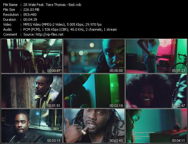 Wale Feat. Tiara Thomas video screenshot