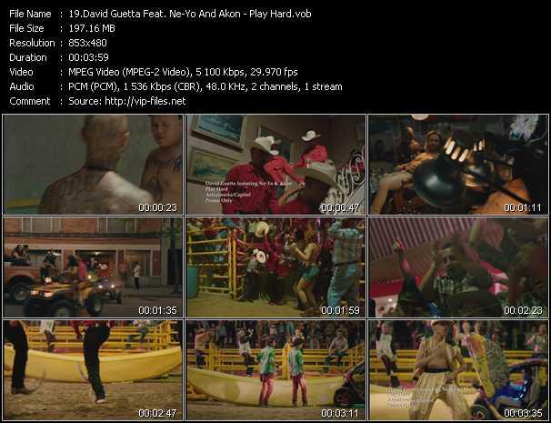 David Guetta Feat. Ne-Yo And Akon video screenshot