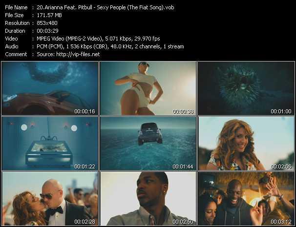 Arianna Feat. Pitbull video screenshot