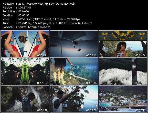 K. Roosevelt Feat. Hit-Boy video screenshot