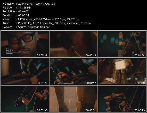 Pj Morton video screenshot