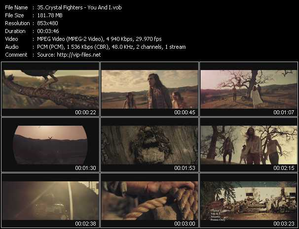 Crystal Fighters video screenshot