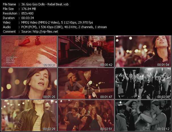 Goo Goo Dolls video screenshot