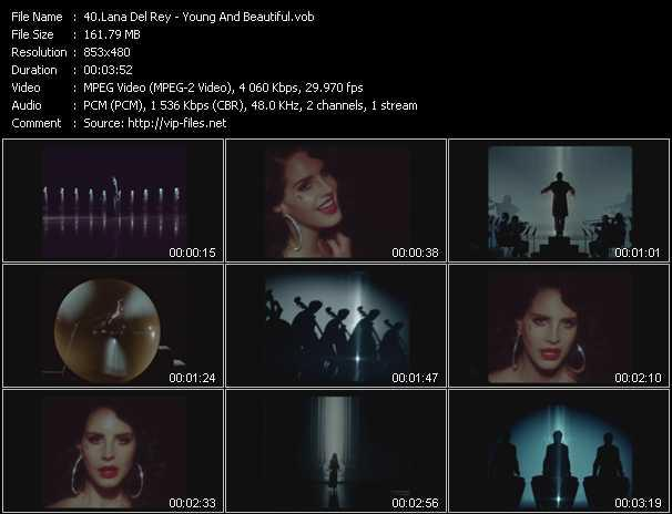 Lana Del Rey video screenshot